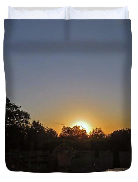 Sunset In Kilkenny Duvet Cover