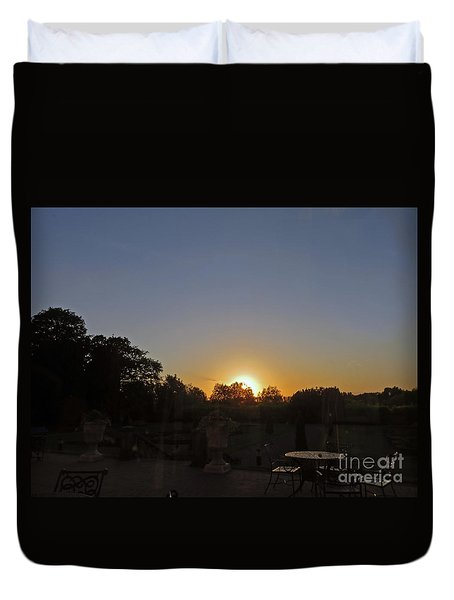Sunset In Kilkenny Duvet Cover by Cindy Murphy - NightVisions