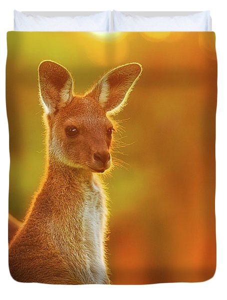 Sunset Joey, Yanchep National Park Duvet Cover