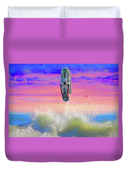 Sunset Jumper Duvet Cover