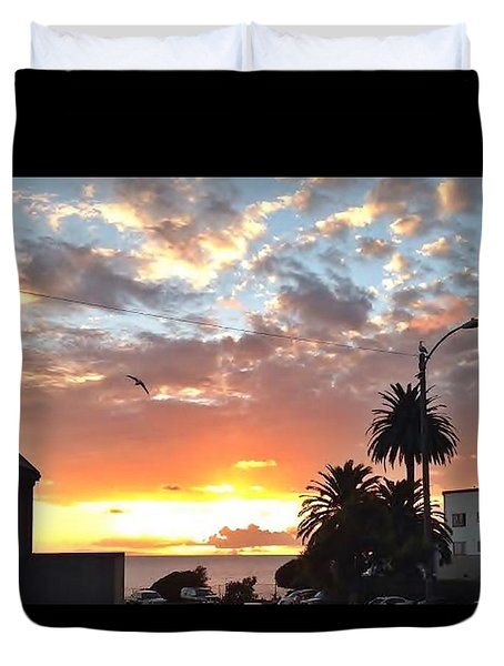 Sunset Laguna Oct 2015 Duvet Cover