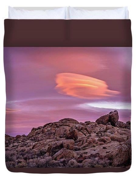 Sunset Lenticular Duvet Cover