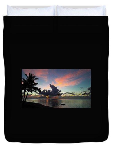 Sunset Lovers Duvet Cover
