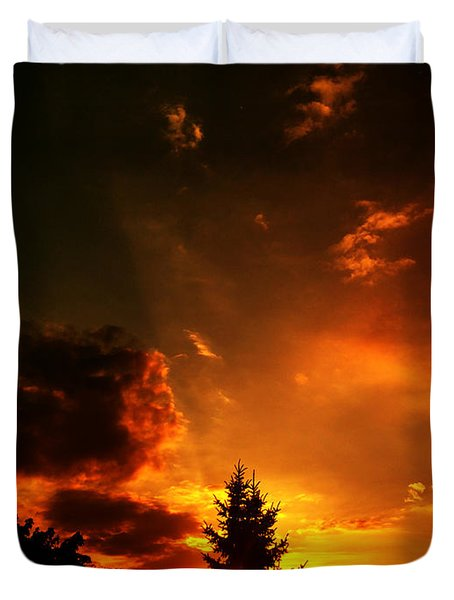 Sunset Madness Duvet Cover