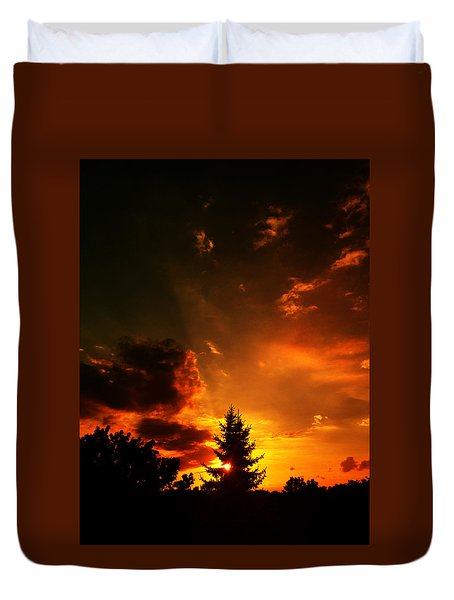 Sunset Madness Duvet Cover