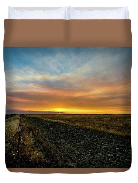 California Sunset Duvet Cover