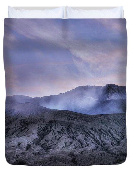 sunset Mount Bromo - Java Duvet Cover
