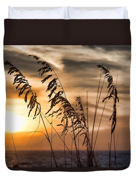 Duvet Cover featuring the photograph Sunset Naples, Florida by John Black