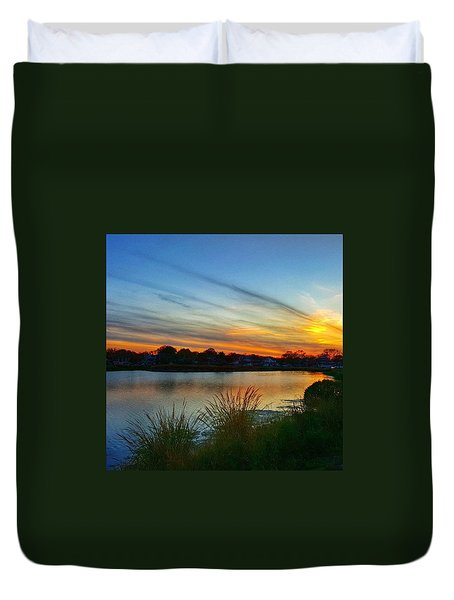 Colors Of The Sky Duvet Cover