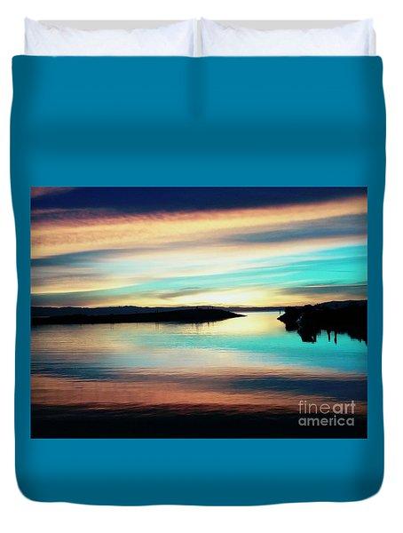 Sunset Noctune Duvet Cover