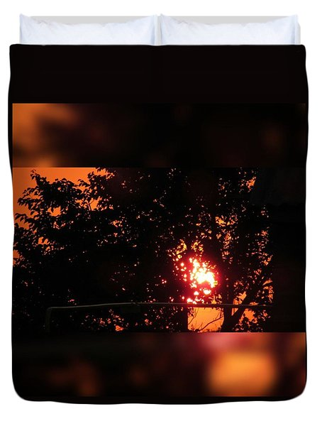 Sunset. Duvet Cover