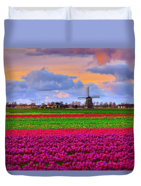 Sunset Of Colors Duvet Cover