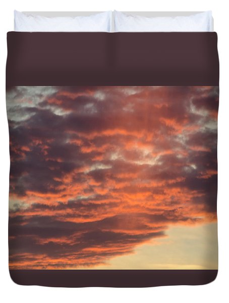Sunset On Hunton Lane #10 Duvet Cover