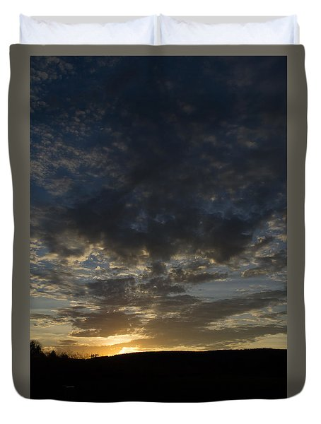 Sunset On Hunton Lane #2 Duvet Cover
