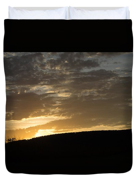 Sunset On Hunton Lane #3 Duvet Cover