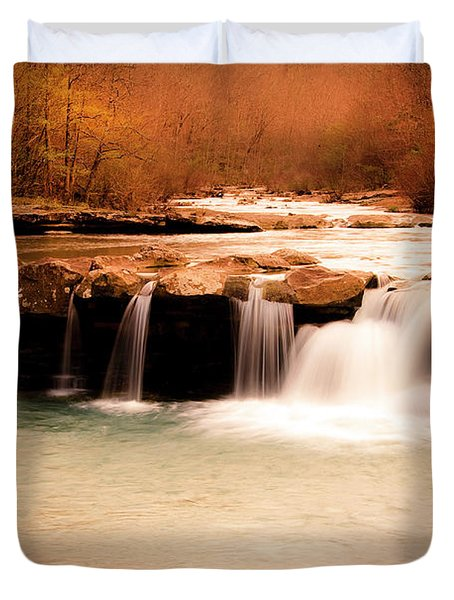 Sunset On King's River Duvet Cover by Tamyra Ayles