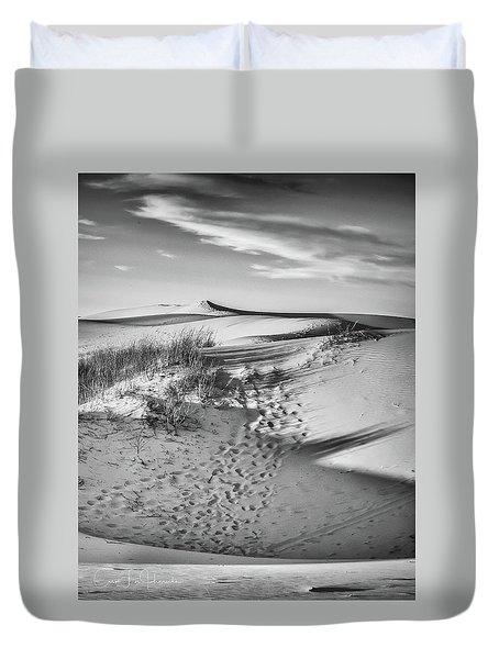 Sunset On The Dunes Duvet Cover