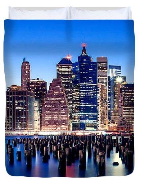 Magic Manhattan Duvet Cover