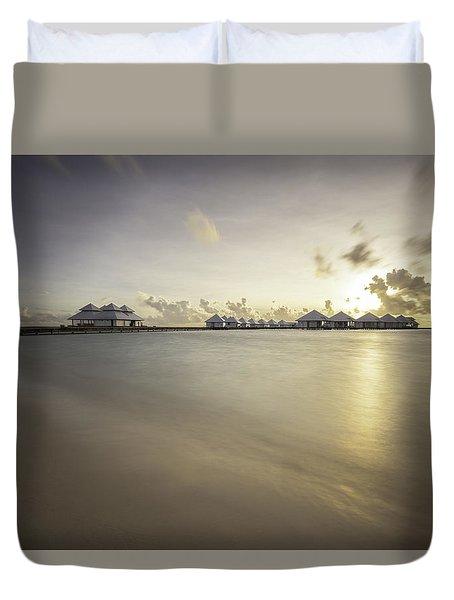 Sunset Paradise Duvet Cover