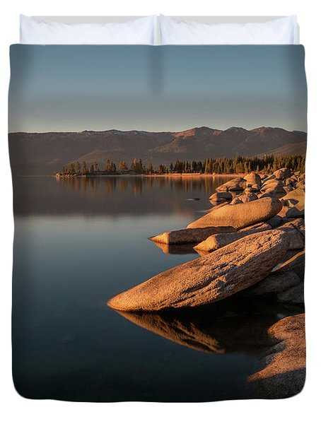 Sunset Peace Duvet Cover