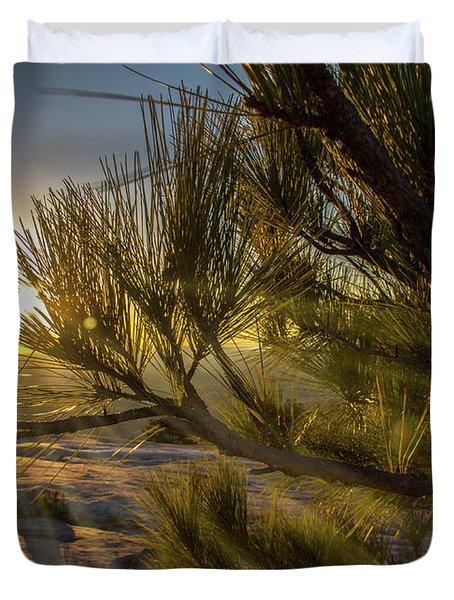 Sunset Pines Duvet Cover