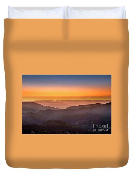 Sunset Point Duvet Cover