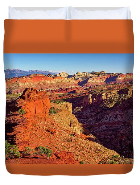 Sunset Point View Duvet Cover