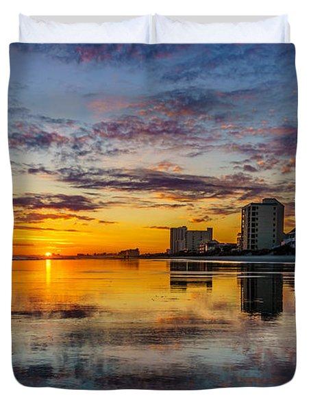Sunset Reflection Duvet Cover