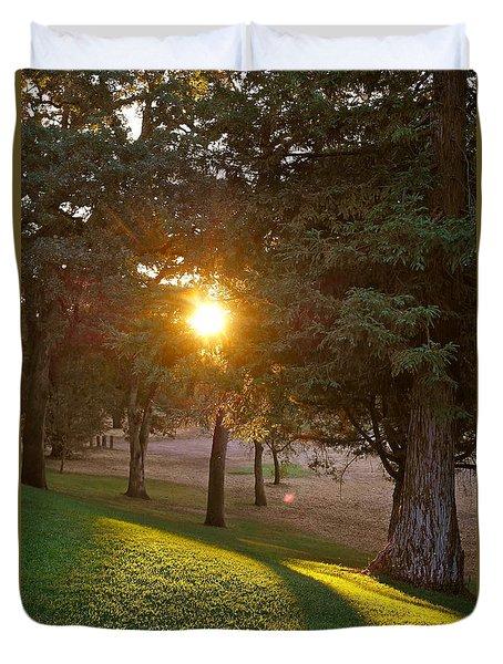 Sunset Retreat Duvet Cover