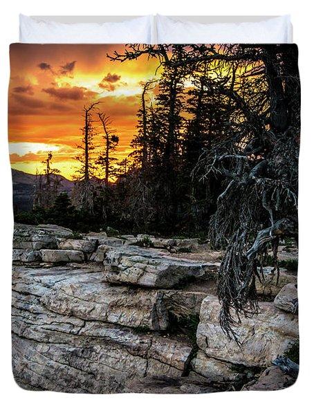 Sunset Ridge - Uinta Mountain Range - Utah Duvet Cover