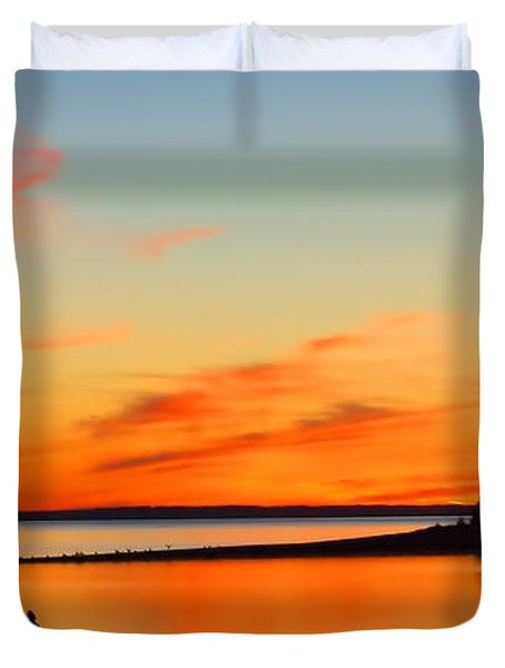 Sunset Serenity Duvet Cover