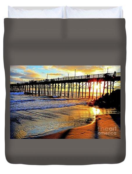 Sunset Shimmer Duvet Cover