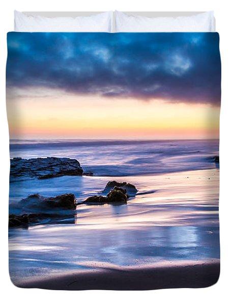 Sunset Shine Duvet Cover
