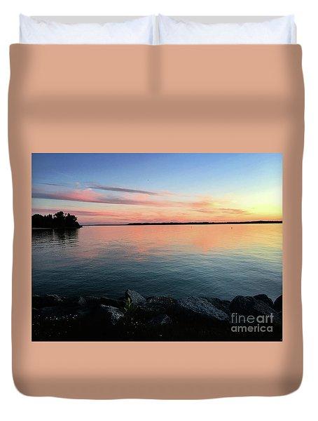 Sunset Sky Duvet Cover