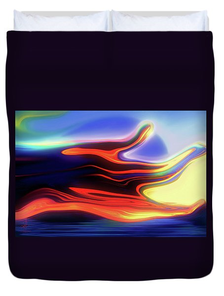 Sunset Sky Duvet Cover