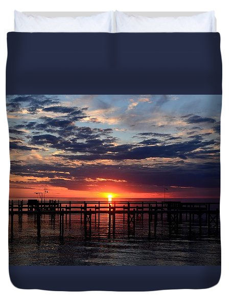 Sunset - South Carolina Duvet Cover