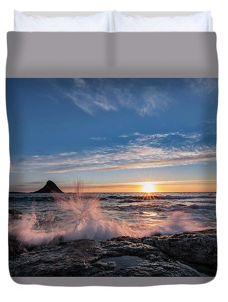 Sunset Splash II Duvet Cover