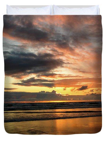 Sunset Split Duvet Cover