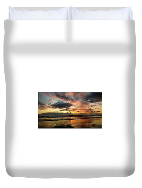 Sunset Split Duvet Cover