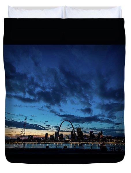 Sunset St. Louis IIi Duvet Cover