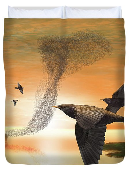 Murmuration Duvet Cover