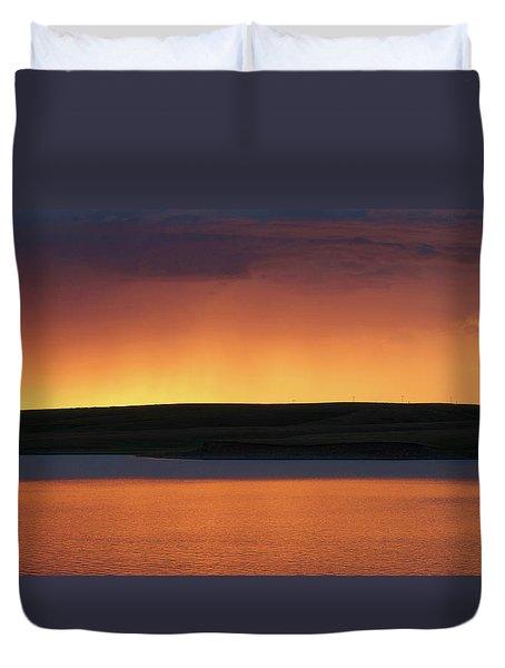 Sunset Storm Duvet Cover