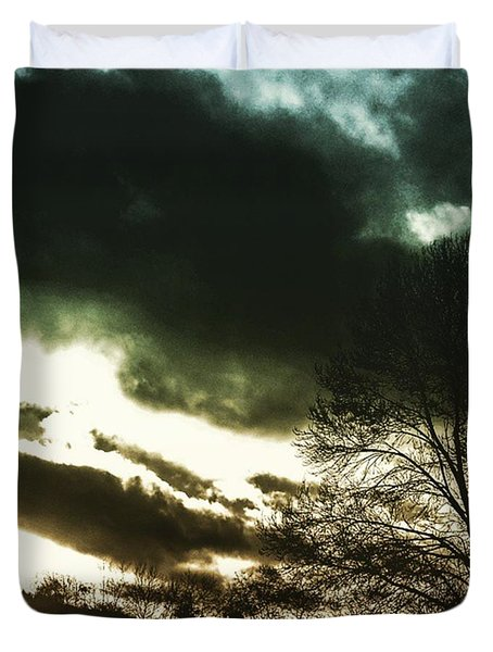 #sunset #sun #tagsforlikes #tflers Duvet Cover by Jason Michael Roust
