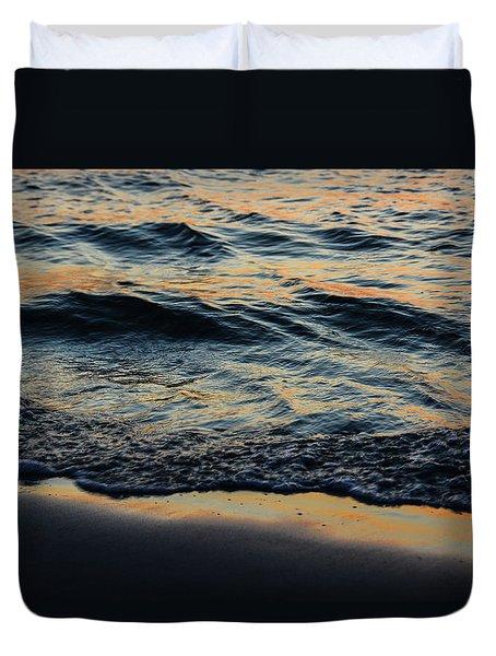 Sunset Surf #2 Duvet Cover