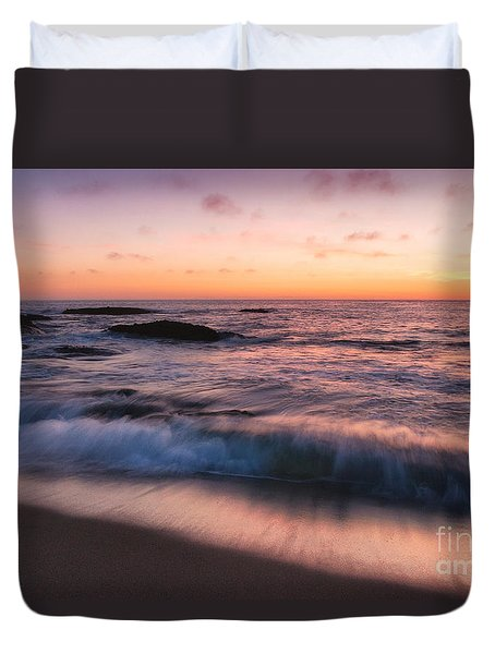 Sunset Surf Duvet Cover