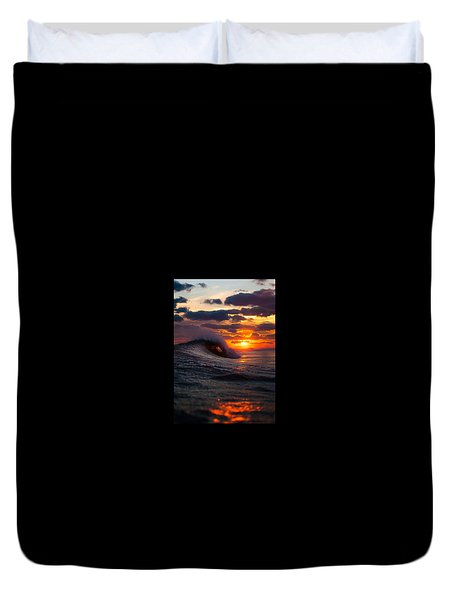 Sunset Surf Sesh Duvet Cover