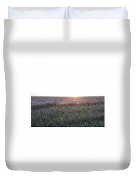 Sunset Texas Duvet Cover