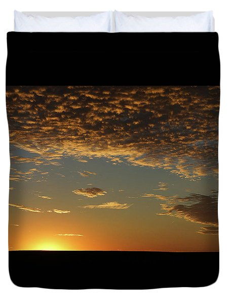 Sunset Duvet Cover by Thomas Bomstad
