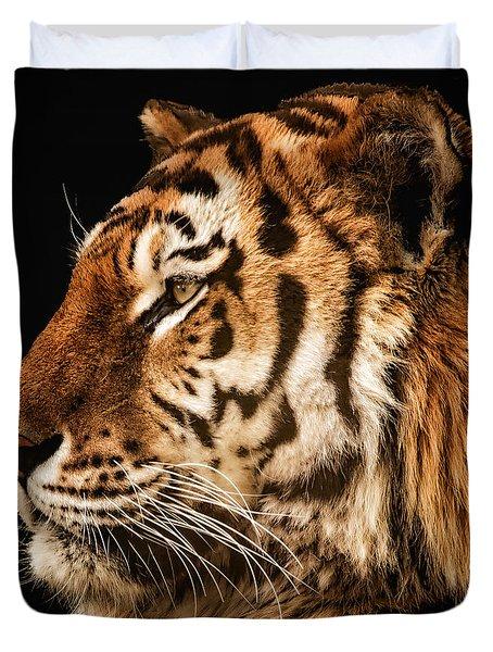 Sunset Tiger Duvet Cover