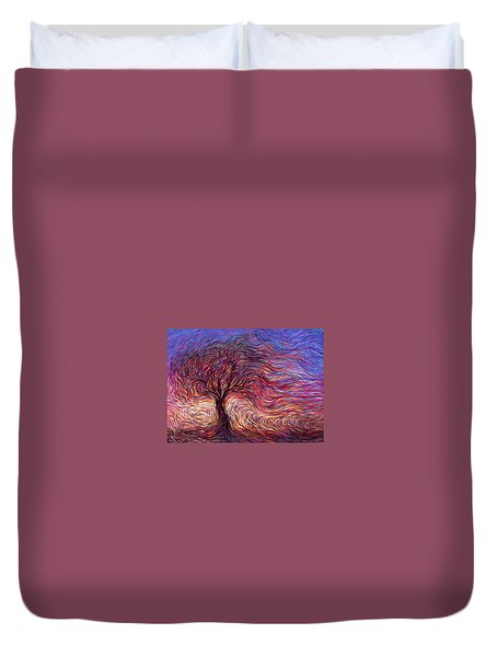 Sunset Tree Duvet Cover